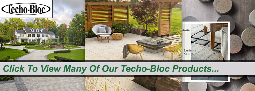 Techo-Bloc Catalog of Products